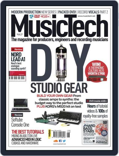 Music Tech (Digital) May 14th, 2014 Issue Cover