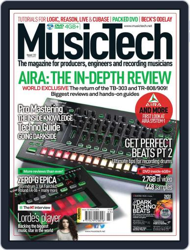 Music Tech (Digital) March 18th, 2014 Issue Cover