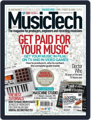 Music Tech (Digital) November 22nd, 2013 Issue Cover
