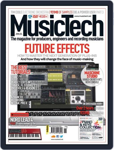Music Tech (Digital) October 16th, 2013 Issue Cover