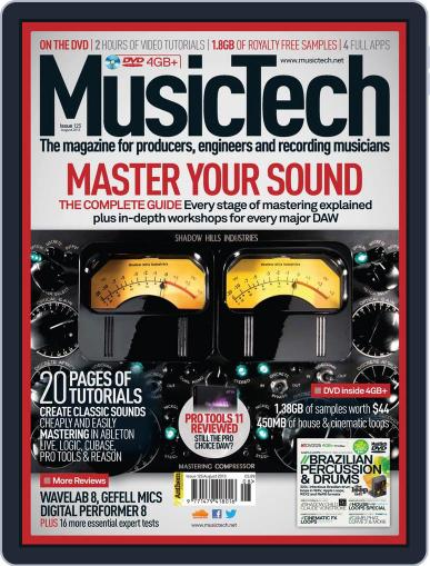 Music Tech (Digital) July 17th, 2013 Issue Cover