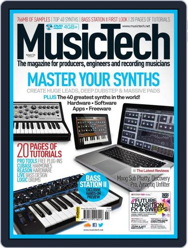 Music Tech (Digital) June 19th, 2013 Issue Cover