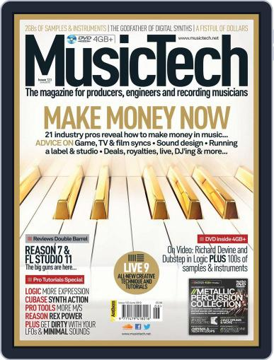 Music Tech (Digital) May 16th, 2013 Issue Cover