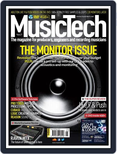 Music Tech (Digital) April 17th, 2013 Issue Cover