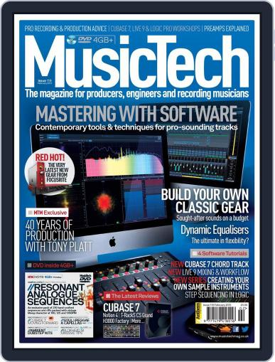 Music Tech (Digital) January 16th, 2013 Issue Cover