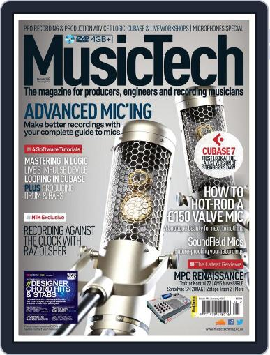 Music Tech December 19th, 2012 Digital Back Issue Cover