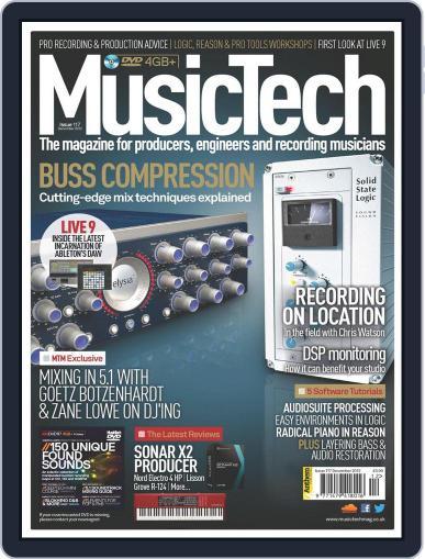 Music Tech (Digital) November 14th, 2012 Issue Cover