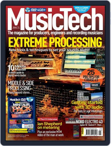 Music Tech August 22nd, 2012 Digital Back Issue Cover