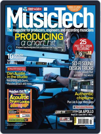 Music Tech (Digital) June 21st, 2012 Issue Cover