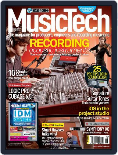 Music Tech (Digital) May 16th, 2012 Issue Cover