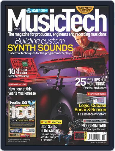 Music Tech (Digital) April 18th, 2012 Issue Cover