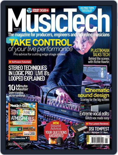 Music Tech January 18th, 2012 Digital Back Issue Cover