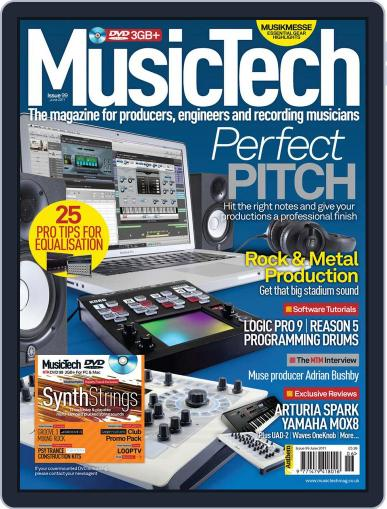 Music Tech (Digital) May 17th, 2011 Issue Cover