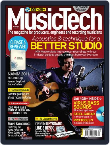 Music Tech (Digital) February 14th, 2011 Issue Cover