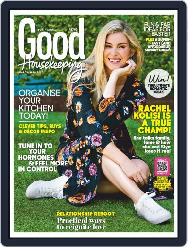 Good Housekeeping South Africa (Digital) March 1st, 2020 Issue Cover