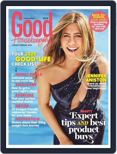 Good Housekeeping South Africa (Digital) January 1st, 2020 Issue Cover