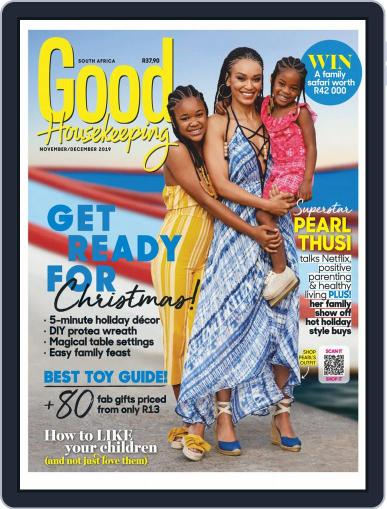 Good Housekeeping South Africa (Digital) November 1st, 2019 Issue Cover