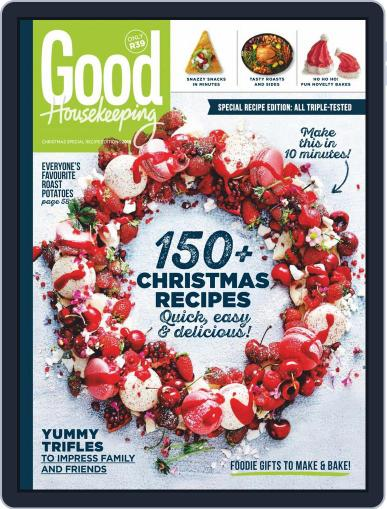 Good Housekeeping South Africa (Digital) September 2nd, 2019 Issue Cover