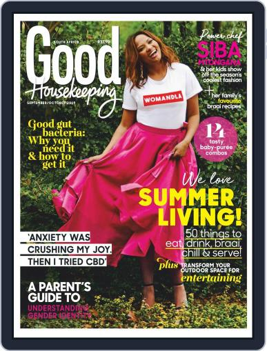 Good Housekeeping South Africa (Digital) September 1st, 2019 Issue Cover