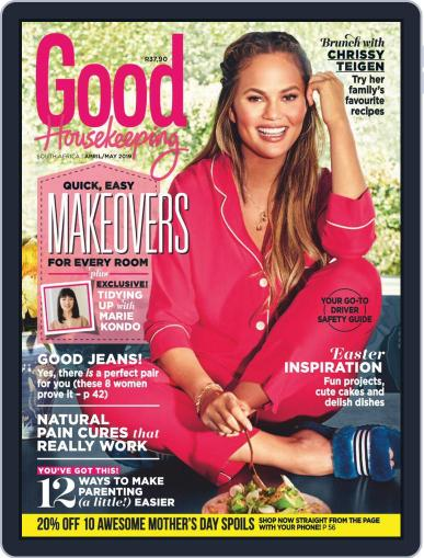Good Housekeeping South Africa (Digital) April 1st, 2019 Issue Cover