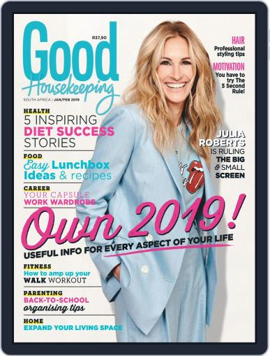 Good Housekeeping South Africa (Digital) January 1st, 2019 Issue Cover