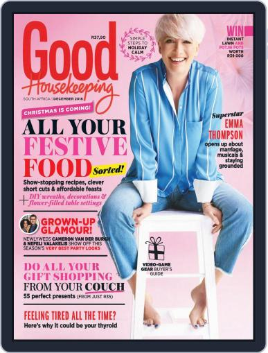 Good Housekeeping South Africa (Digital) December 1st, 2018 Issue Cover