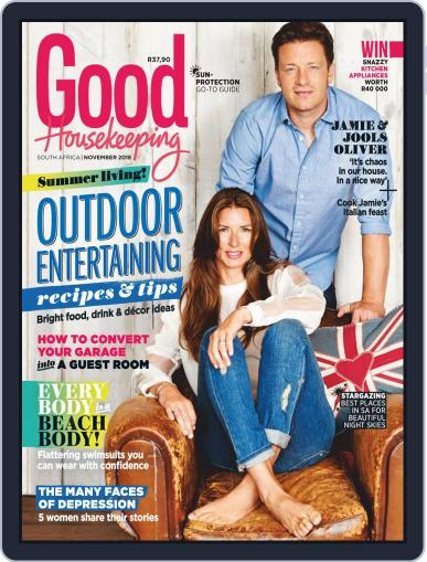 Good Housekeeping South Africa November 1st, 2018 Digital Back Issue Cover