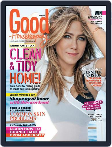 Good Housekeeping South Africa September 1st, 2018 Digital Back Issue Cover