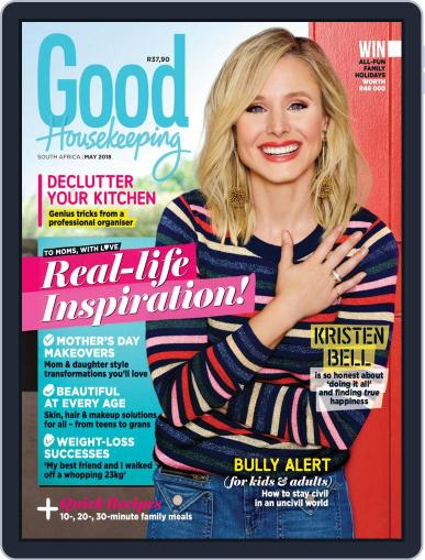 Good Housekeeping South Africa May 1st, 2018 Digital Back Issue Cover
