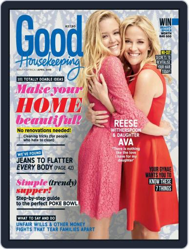 Good Housekeeping South Africa (Digital) April 1st, 2018 Issue Cover