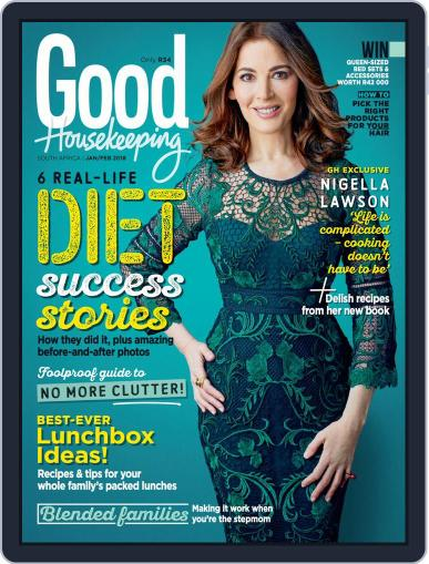 Good Housekeeping South Africa (Digital) January 1st, 2018 Issue Cover
