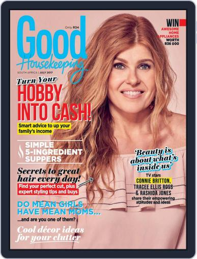 Good Housekeeping South Africa July 1st, 2017 Digital Back Issue Cover