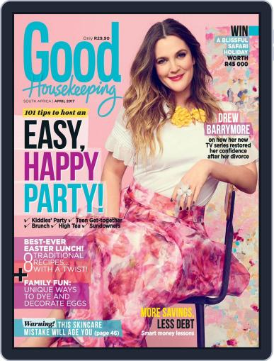 Good Housekeeping South Africa (Digital) April 1st, 2017 Issue Cover