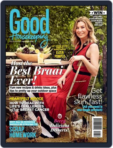 Good Housekeeping South Africa October 1st, 2016 Digital Back Issue Cover