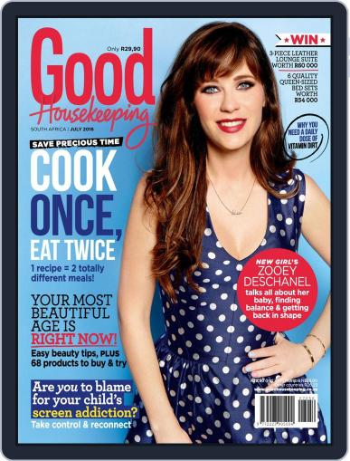 Good Housekeeping South Africa (Digital) June 20th, 2016 Issue Cover