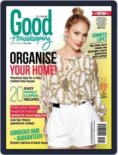 Good Housekeeping South Africa (Digital) April 30th, 2016 Issue Cover