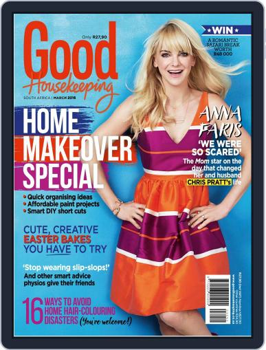 Good Housekeeping South Africa (Digital) February 22nd, 2016 Issue Cover