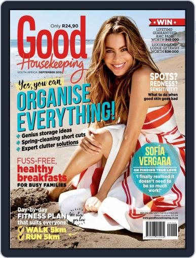 Good Housekeeping South Africa (Digital) September 1st, 2015 Issue Cover