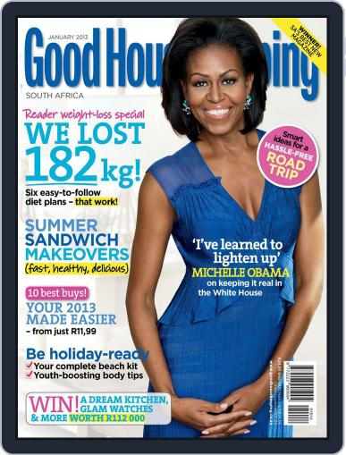 Good Housekeeping South Africa December 16th, 2012 Digital Back Issue Cover