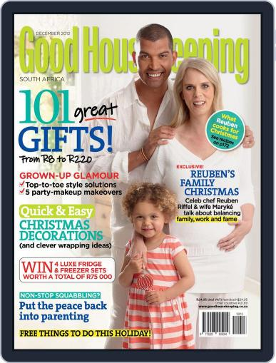 Good Housekeeping South Africa (Digital) November 18th, 2012 Issue Cover