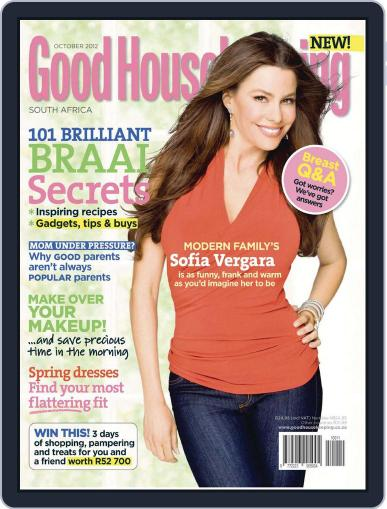 Good Housekeeping South Africa September 16th, 2012 Digital Back Issue Cover