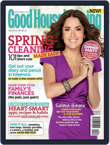 Good Housekeeping South Africa (Digital) August 19th, 2012 Issue Cover
