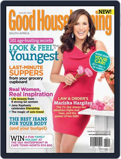 Good Housekeeping South Africa July 15th, 2012 Digital Back Issue Cover