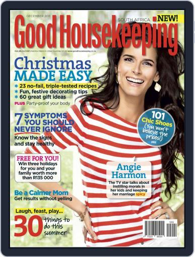Good Housekeeping South Africa (Digital) November 29th, 2011 Issue Cover