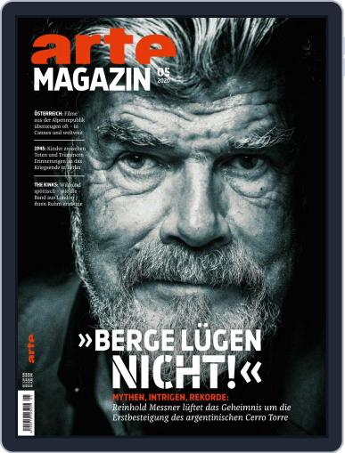 Arte Magazin May 1st, 2020 Digital Back Issue Cover