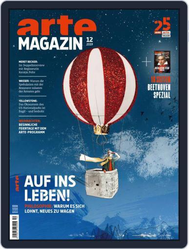 Arte Magazin December 1st, 2019 Digital Back Issue Cover