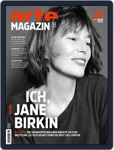 Arte Magazin November 1st, 2019 Digital Back Issue Cover