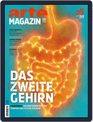 Arte Magazin October 1st, 2019 Digital Back Issue Cover