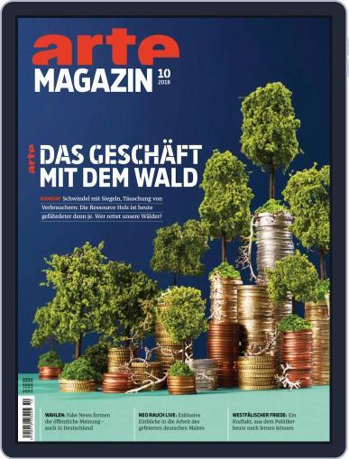 Arte Magazin (Digital) October 1st, 2018 Issue Cover