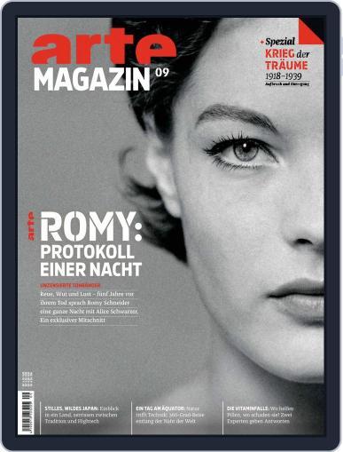 Arte Magazin (Digital) September 1st, 2018 Issue Cover